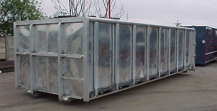 Aluminiums container
