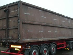 Hardox container