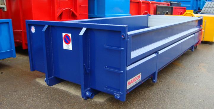 Pendel container