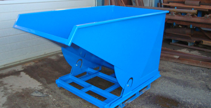 Vippe container